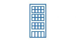 アイコン:本社・本店・高層ビル
